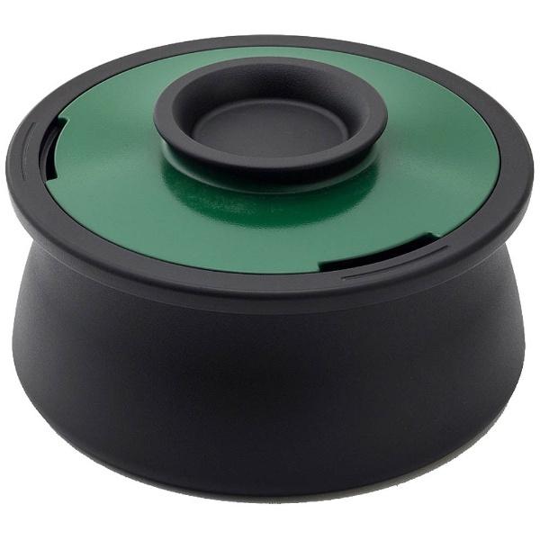 【送料無料】 穴織カーボン ≪IH対応≫ カーボン製両手鍋 「POT VOL.」(2.1L) VO001BG ブリティッシュグリーン