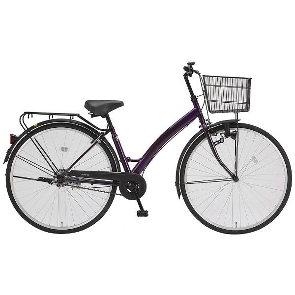 【送料無料】 サイモト自転車 27型 自転車 ダカラットモダ270(パープル/シングルシフト) CA-B270B【2017年モデル】【組立商品につき返品不可】 【代金引換配送不可】【メーカー直送・代金引換不可・時間指定・返品不可】