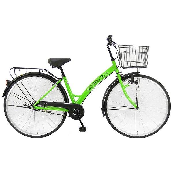 【送料無料】 サイモト自転車 27型 自転車 ダカラットモダ270(ライムグリーン/シングルシフト) CA-B270B【2017年モデル】【組立商品につき返品不可】 【代金引換配送不可】【メーカー直送・代金引換不可・時間指定・返品不可】