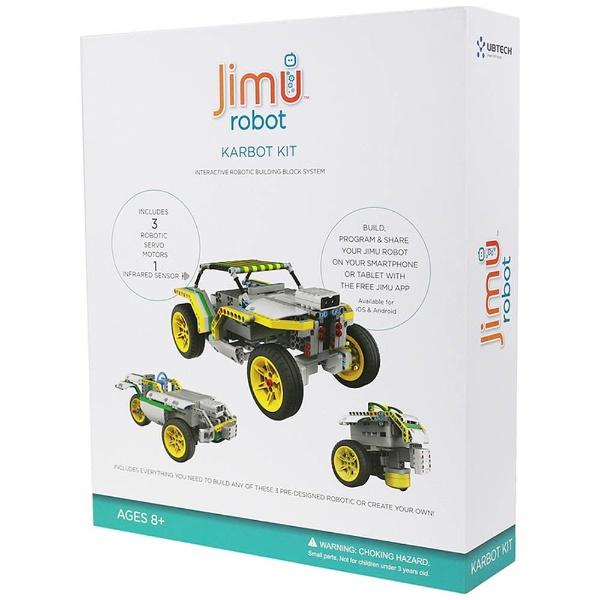 【送料無料】 UBTECH Jimu robot KarBot Kit〔ロボットキット プログラミング学習: iOS/Android対応〕【STEM教育】