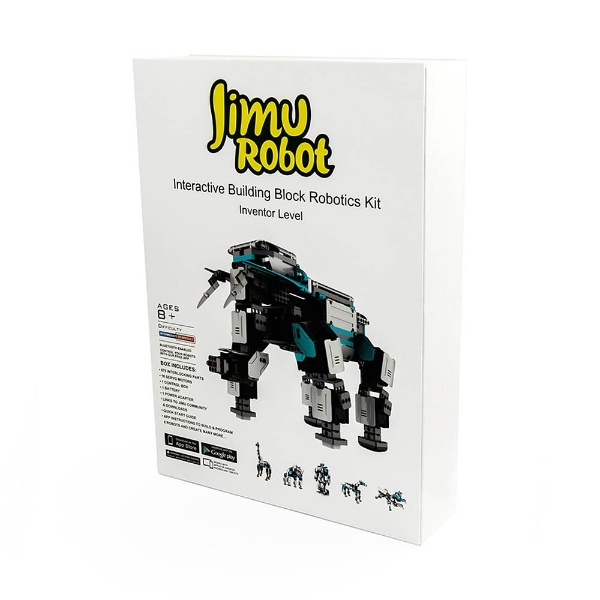 【送料無料】 UBTECH Jimu robot Inventor Kit〔ロボットキット プログラミング学習: iOS/Android対応〕【STEM教育】