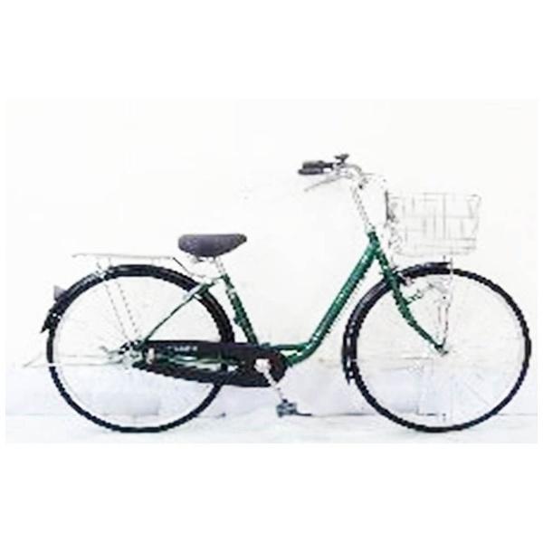 【送料無料】 サイモト自転車 26型 自転車 アネモネ260HD(グリーン/シングルシフト) FL-W260R-HD-BAA【組立商品につき返品不可】 【代金引換配送不可】【メーカー直送・代金引換不可・時間指定・返品不可】
