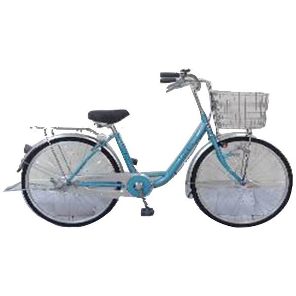【送料無料】 サイモト自転車 24型 自転車 アネモネ240HD(ブルー/シングルシフト) FL-W240R-HD-BAA【組立商品につき返品不可】 【代金引換配送不可】【メーカー直送・代金引換不可・時間指定・返品不可】