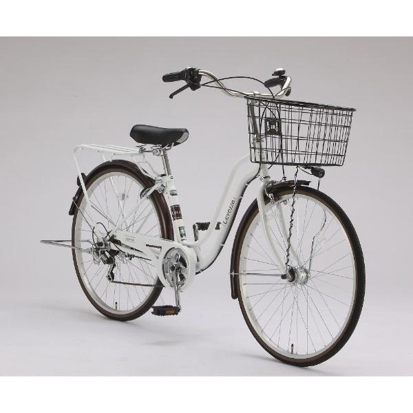 【送料無料】 サイモト自転車 26型 自転車 レベッツア266HD(ホワイト/外装6段変速) FS-W266R-HD-BAA【組立商品につき返品不可】 【代金引換配送不可】【メーカー直送・代金引換不可・時間指定・返品不可】