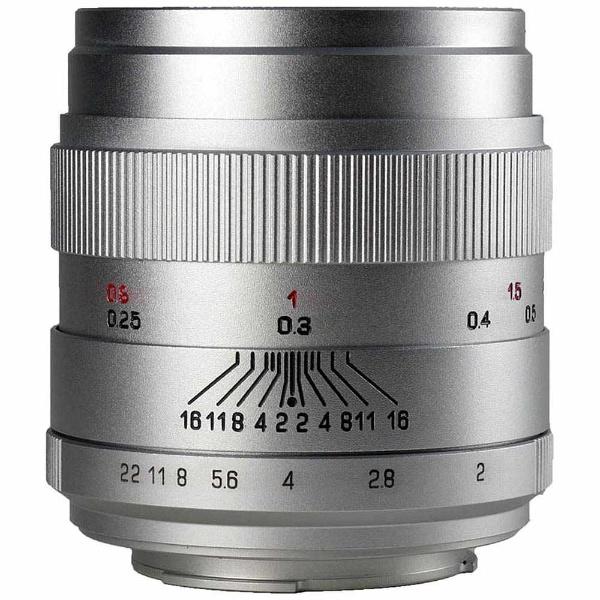 【送料無料】 中一光学 交換レンズ CREATOR 35mm F2.0 LIMITED(シルバー)【ニコンFマウント】
