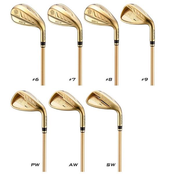 【送料無料】 カタナゴルフ アイアン 5本セット VOLTiO NINJA 880Hi GOLD #6~P《フジクラ製オリジナルSpeeder 361 シャフト》R【ルール非適合】