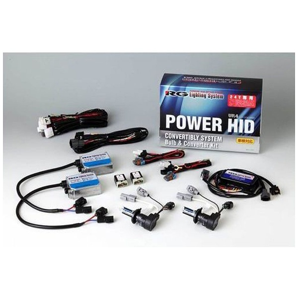 【送料無料】 RACINGGEAR 24V-HID H3 VR4シリーズ 4500K RGH-CB2442