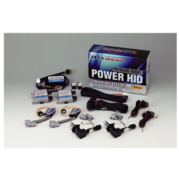 【送料無料】 RACINGGEAR HIDキット プレミアムモデル L+HB  6200K RGH-CB865