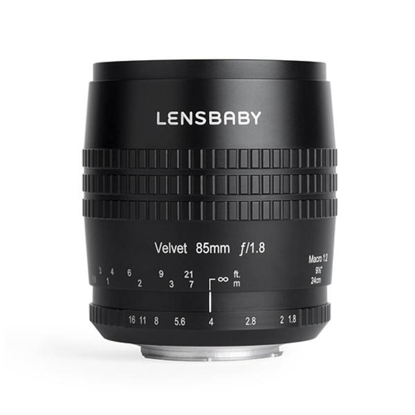 【送料無料】 レンズベビー カメラレンズ レンズベビー Velvet85(ベルベット85mm) F1.8ソフト【ソニーA(α)マウント】