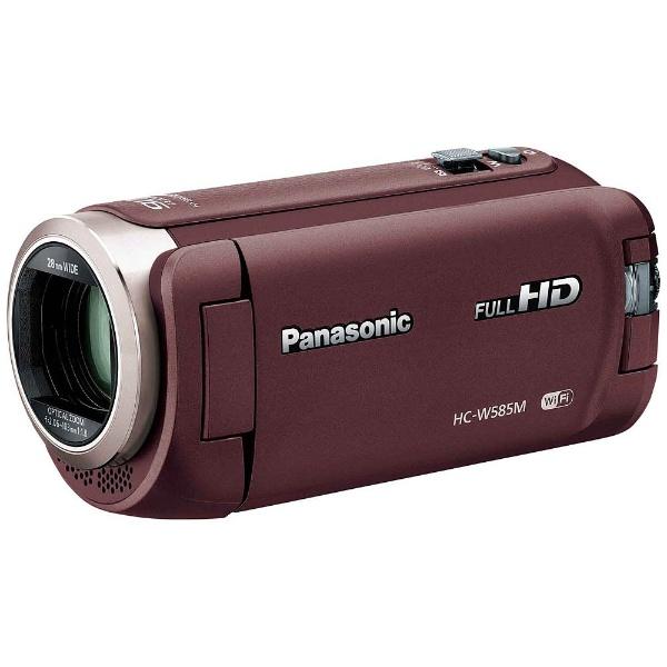 【送料無料】 パナソニック Panasonic HC-W585M HC-W585M ビデオカメラ ブラウン ブラウン [フルハイビジョン対応][HCW585MT], ヤツオマチ:aee41dd0 --- capela.eng.br