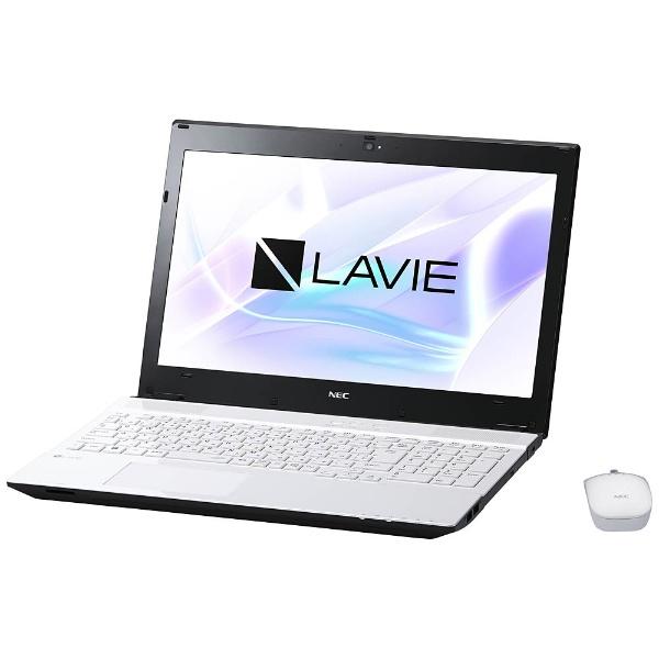 【送料無料】 NEC エヌイーシー PC-NS350HAW ノートパソコン LAVIE Note Standard クリスタルホワイト [15.6型 /HDD:1TB /メモリ:4GB /2017年7月モデル][PCNS350HAW][p-ksale]