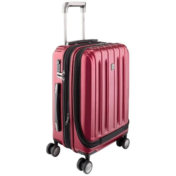 【送料無料】 DELSEY TSAロック搭載スーツケース DELSEY vavin zip 55cm 2073801_RD レッド 【メーカー直送・代金引換不可・時間指定・返品不可】