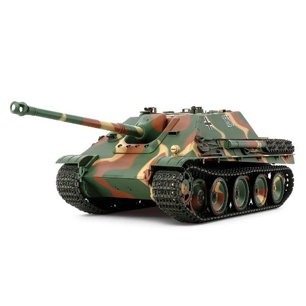 【送料無料】 タミヤ 1/16 ビッグタンクシリーズ No.10 ドイツ駆逐戦車 ヤークトパンサー後期型(ディスプレイモデル)【代金引換配送不可】