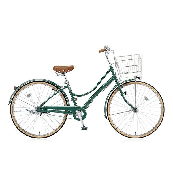 【送料無料】 ブリヂストン 27型 自転車 エブリッジL(E.Xフィールドグリーン/3段変速) EB73LT【2017年/点灯虫モデル】【組立商品につき返品不可】 【代金引換配送不可】