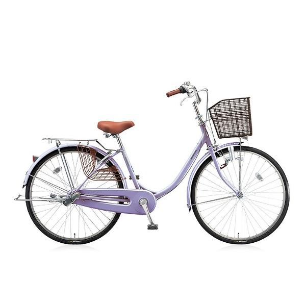 【送料無料】 ブリヂストン 24型 自転車 エブリッジU(E.Xスイートラベンダー/シングル) EB40U【2017年モデル】【組立商品につき返品不可】 【代金引換配送不可】