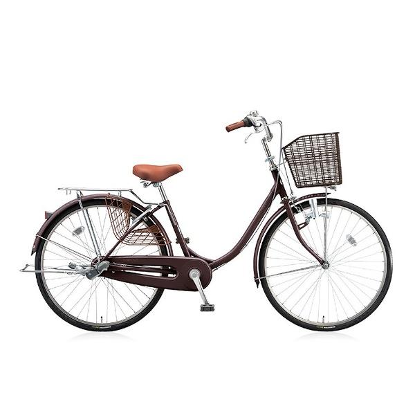 【送料無料】 ブリヂストン 24型 自転車 エブリッジU(F.Xカラメルブラウン/3段変速) EB43U【2017年モデル】【組立商品につき返品不可】 【代金引換配送不可】
