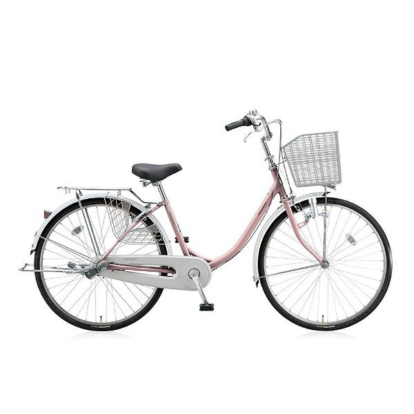 【送料無料】 ブリヂストン 24型 自転車 エブリッジU(M.Xプレシャスローズ/3段変速) EB43U【2017年モデル】【組立商品につき返品不可】 【代金引換配送不可】