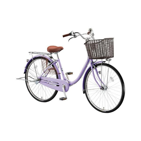 【送料無料】 ブリヂストン 24型 自転車 エブリッジU(E.Xスイートラベンダー/シングル) EB40UT【2017年/点灯虫モデル】【組立商品につき返品不可】 【代金引換配送不可】