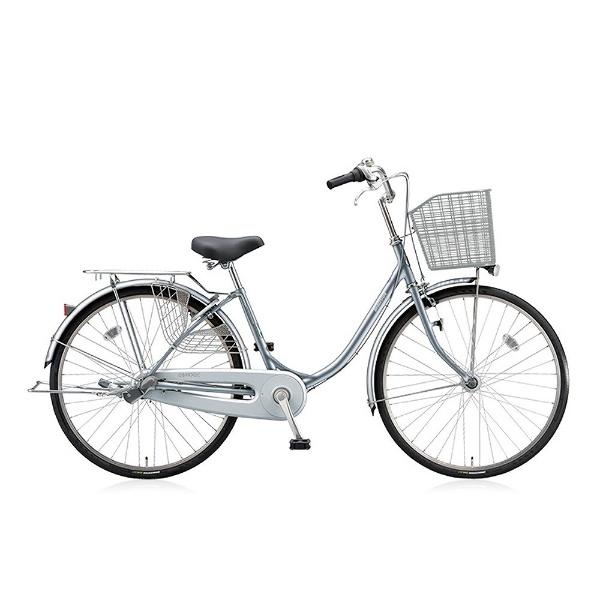 【送料無料】 ブリヂストン 24型 自転車 エブリッジU(M.XRシルバー/シングル) EB40UT【2017年/点灯虫モデル】【組立商品につき返品不可】 【代金引換配送不可】