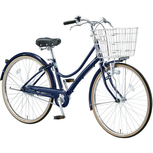 【送料無料】 ブリヂストン 27型 自転車 エブリッジL(E.Xノーブルネイビー/シングル) EB70L【2017年モデル】【組立商品につき返品不可】 【代金引換配送不可】