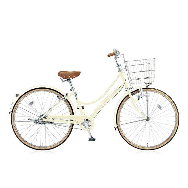 【送料無料】 ブリヂストン 27型 自転車 エブリッジL(E.Xクリームアイボリー/シングル) EB70L【2017年モデル】【組立商品につき返品不可】 【代金引換配送不可】