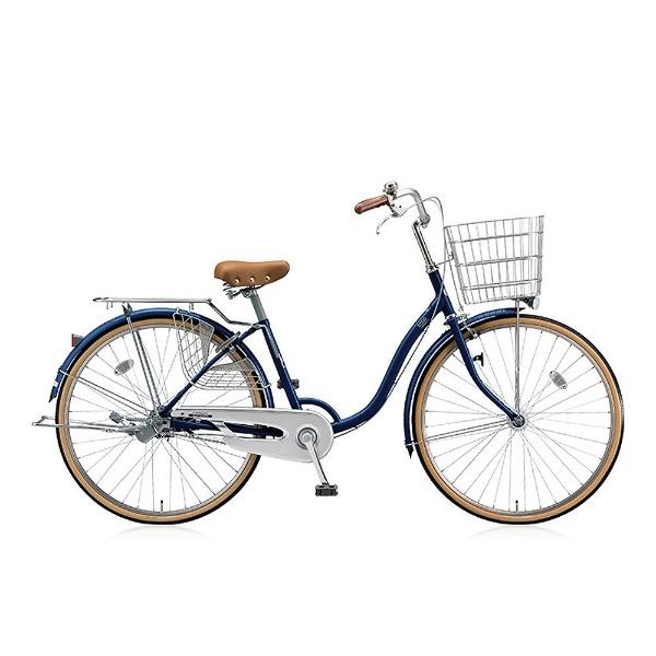【送料無料】 ブリヂストン 26型 自転車 シティーノ LP型(E.Xノーブルネイビー/シングル) CT60LT【2017年/点灯虫モデル】【組立商品につき返品不可】 【代金引換配送不可】