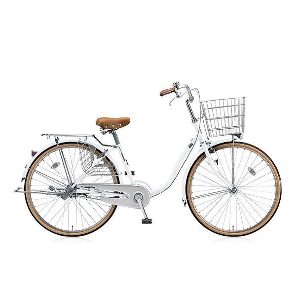 【送料無料】 ブリヂストン 26型 自転車 シティーノ LP型(P.Xスノーホワイト/シングル) CT60LT【2017年/点灯虫モデル】【組立商品につき返品不可】 【代金引換配送不可】