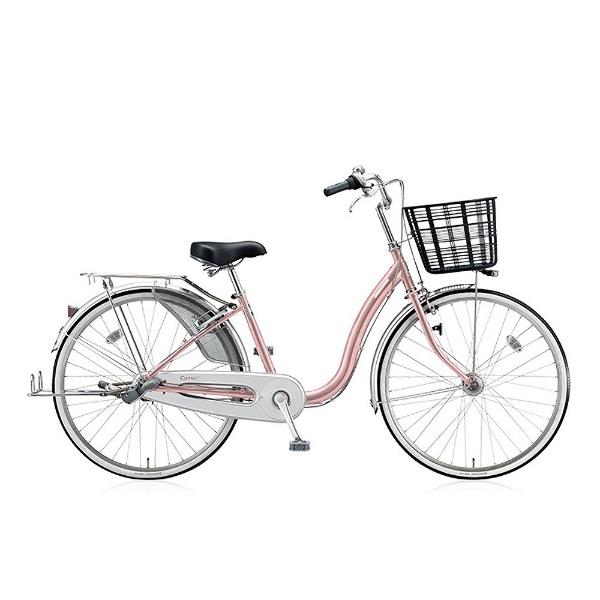 【送料無料】 ブリヂストン 24型 自転車 カルク デラックス(M.Xプレシャスローズ/シングル) C40TP【2017年/点灯虫モデル】【組立商品につき返品不可】 【代金引換配送不可】