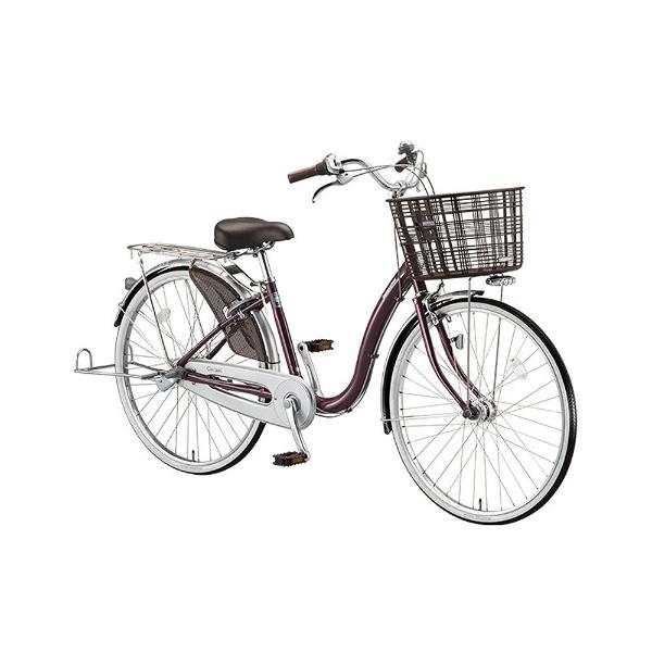 【送料無料】 ブリヂストン 24型 自転車 カルク デラックス(P.Xベリーパープル/シングル) C40TP【2017年/点灯虫モデル】【組立商品につき返品不可】 【代金引換配送不可】