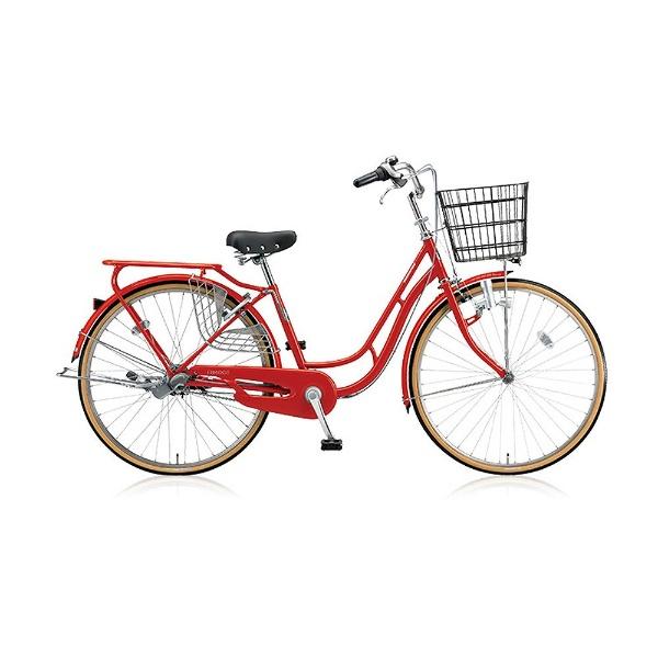 【送料無料】 ブリヂストン 26型 自転車 エブリッジC(E.Xフレッシュレッド/シングル) EB60C【2017年モデル】【組立商品につき返品不可】 【代金引換配送不可】