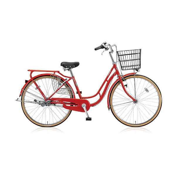 【送料無料】 ブリヂストン 26型 自転車 エブリッジC(E.Xフレッシュレッド/シングル) EB60CT【2017年/点灯虫モデル】【組立商品につき返品不可】 【代金引換配送不可】