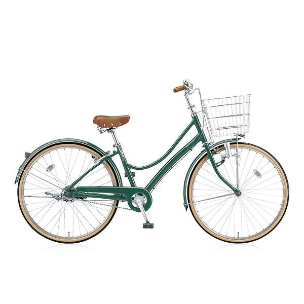 【送料無料】 ブリヂストン 27型 自転車 エブリッジL(E.Xフィールドグリーン/シングル) EB70L【2017年モデル】【組立商品につき返品不可】 【代金引換配送不可】
