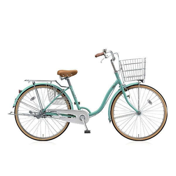 【送料無料】 ブリヂストン 26型 自転車 シティーノ LP型(E.Xミントアクア/シングル) CT60LT【2017年/点灯虫モデル】【組立商品につき返品不可】 【代金引換配送不可】