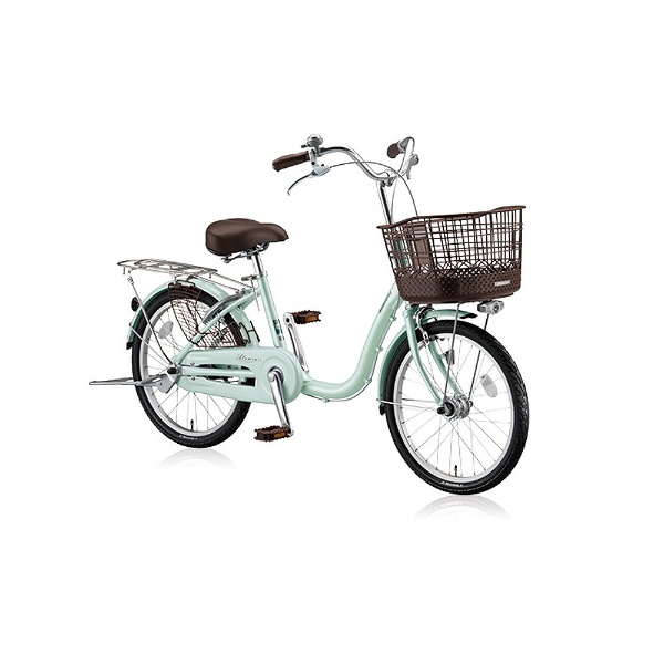 【送料無料】 ブリヂストン 22型 自転車 アルミーユ ミニ(P.Xオパールミント/シングル) AU20T【2017年/点灯虫モデル】【組立商品につき返品不可】 【代金引換配送不可】