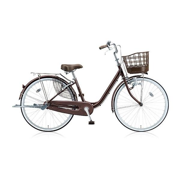 【送料無料】 ブリヂストン 24型 自転車 アルミーユ(F.カラメルブラウン/シングル) AU40【2017年モデル】【組立商品につき返品不可】 【代金引換配送不可】