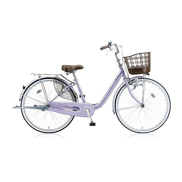 【送料無料】 ブリヂストン 26型 自転車 アルミーユ(P.Xオパールラベンダー/シングル) AU60【2017年モデル】【組立商品につき返品不可】 【代金引換配送不可】
