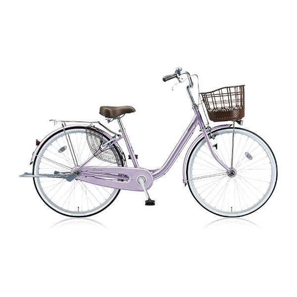 【送料無料】 ブリヂストン 24型 自転車 アルミーユ(P.Xオパールラベンダー/シングル) AU40T【2017年/点灯虫モデル】【組立商品につき返品不可】 【代金引換配送不可】