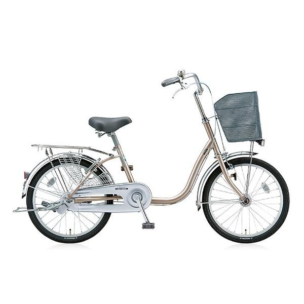 【送料無料】 ブリヂストン 20型 自転車 シティーノ ミニ(M.Xウォームベージュ/シングル) CT20MT【2017年/点灯虫モデル】【組立商品につき返品不可】 【代金引換配送不可】