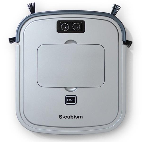 【送料無料】 エスキュービズムエレクトリック S-cubism 超薄型床用ロボット掃除機 SCC-R05SM