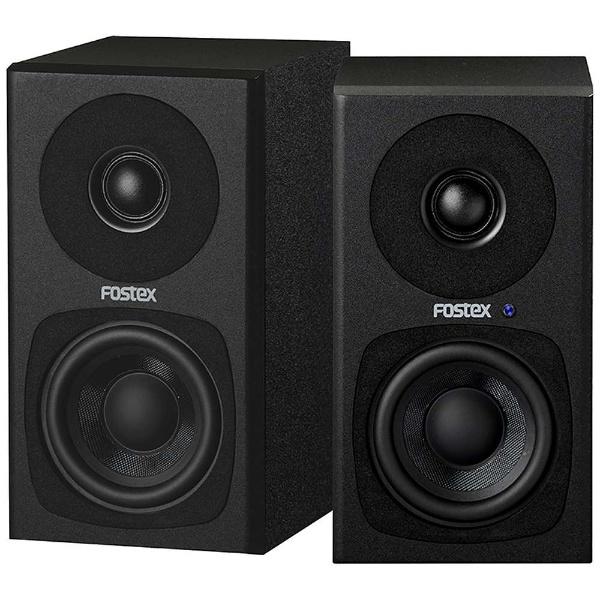 【送料無料】 FOSTEX 【ハイレゾ音源対応】アクティブスピーカー(ペア/ブラック) PM0.3H(B)