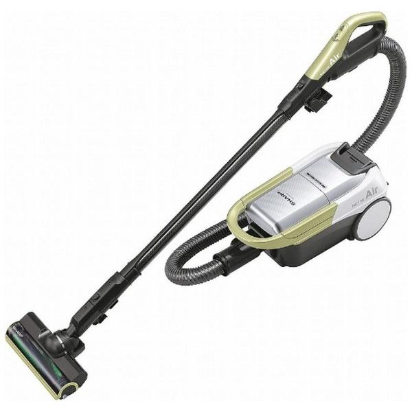 【送料無料】 シャープ SHARP EC-AP500-Y 紙パック式掃除機 RACTIVE Air(ラクティブ エア) イエロー系 [紙パック式 /コードレス]