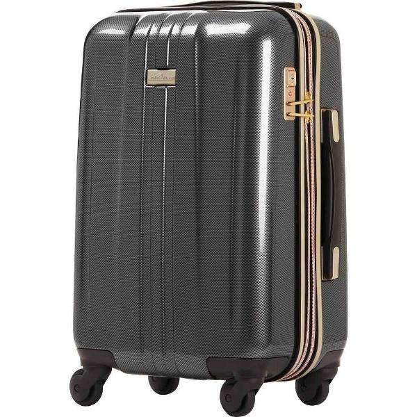 【送料無料】 レジェンドウォーカー TSAロック搭載スーツケース(44L) ANCHOR+ 6701 6701-54-CB カーボン 【メーカー直送・代金引換不可・時間指定・返品不可】