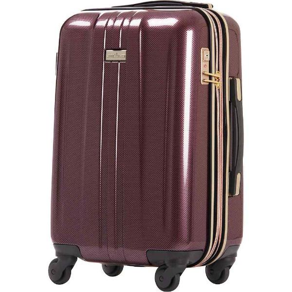 【送料無料】 レジェンドウォーカー TSAロック搭載スーツケース(32L)ANCHOR+ 6701 6701-48-WRCB ワインレッドカーボン 【メーカー直送・代金引換不可・時間指定・返品不可】