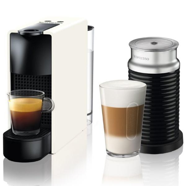 【送料無料】 ネスレネスプレッソ 専用カプセル式コーヒーメーカー 「エッセンサ・ミニ」 バンドルセット C30WH-A3B ピュアホワイト[C30WHA3B]