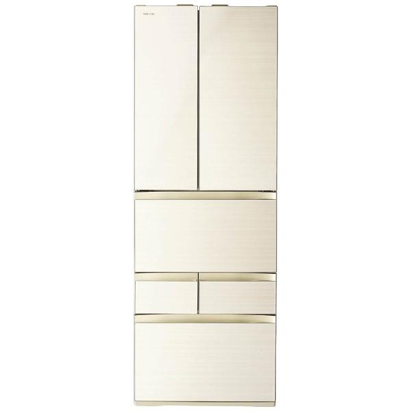 【標準設置費込み】 東芝 TOSHIBA GR-M460FW-ZC 冷蔵庫 VEGETA(ベジータ)FWシリーズ ラピスアイボリー [6ドア /観音開きタイプ /462L]