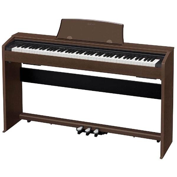 【送料無料】 カシオ PX-770BN 電子ピアノ Privia オークウッド調 [88鍵盤] 【メーカー直送・代金引換不可・時間指定・返品不可】