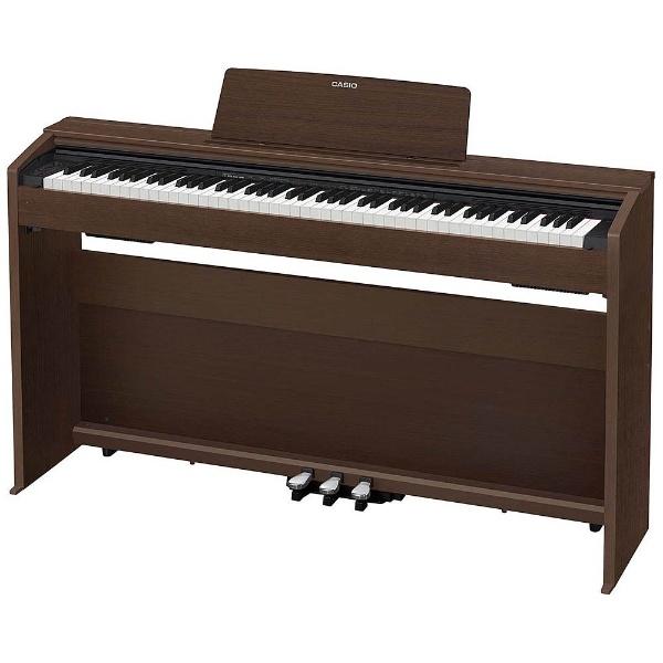 【送料無料】 カシオ PX-870BN 電子ピアノ Privia オークウッド調 [88鍵盤] 【メーカー直送・代金引換不可・時間指定・返品不可】