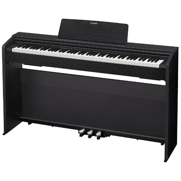 【送料無料】 カシオ PX-870BK 電子ピアノ Privia ブラックウッド調 [88鍵盤] 【メーカー直送・代金引換不可・時間指定・返品不可】