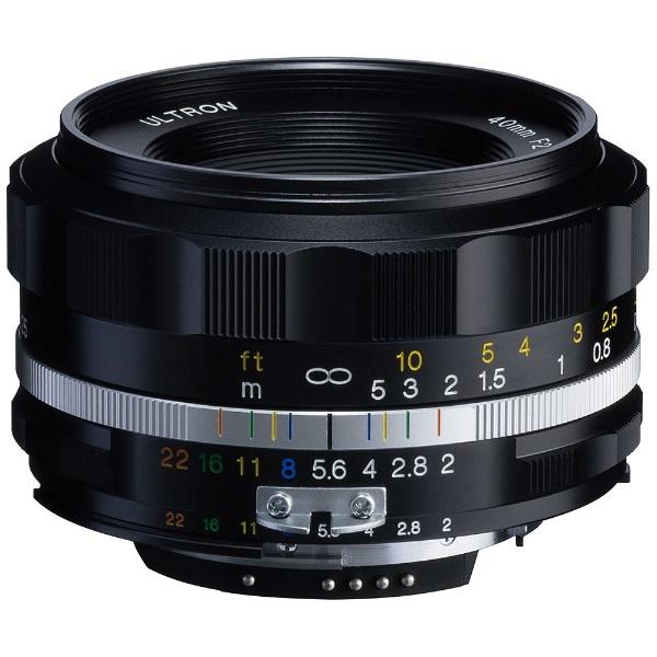 【送料無料】 フォクトレンダー カメラレンズ ULTRON 40mm F2 SL IIS(ブラックリム)(CPU付きニコンAi-sマウント)【ニコンFマウント】[ULTRON40F2SL2Sブラックリ]