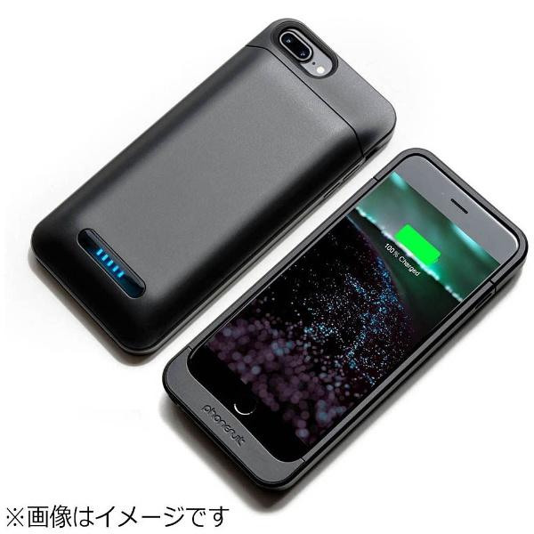 【送料無料】 PHONESUIT iPhone 7 Plus用 Elite 3000mAh 大容量バッテリー内蔵ケース ブラック MFi認証  PS-ELITE-IP7PL-BLK